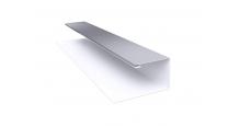 Металлические доборные элементы для фасада в Ульяновске Планка П-образная/завершающая сложная 20х30