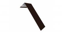 Металлические доборные элементы для фасада в Ульяновске Планка лобовая/околооконная простая 190х50